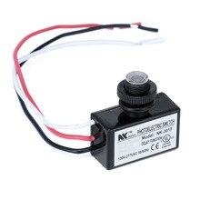 AC80 277V Flush Mount Photocell Dusk to Dawn Switch Photo Control Switch