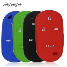 Jingyuqin coque de protection en Silicone à 4 boutons, pour Honda Accord CRV S2000, couvercle de protection Fob télécommande, Insight