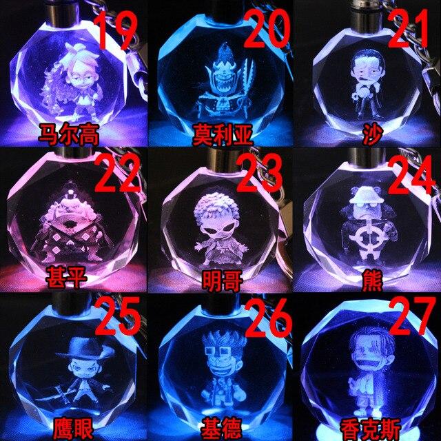 аниме Брелок кристалл Ван Пис в ассортименте 2