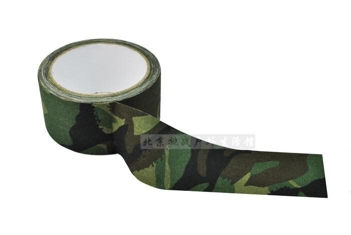 Acorazado de la cinta de conducto CANTIMPLORA camuflaje de cinta de tela cinta cinta de Tarn Geocaching