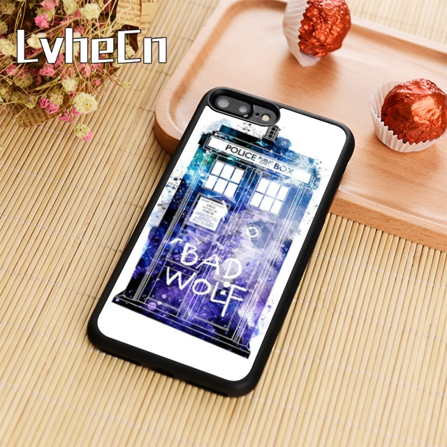 Fitted Cases Generous Lvhecn Doctor Who Tardis Bad Wolf Phone Case Cover For Iphone 4 5s 6 6s 7 8 Plus 10 X Samsung Galaxy S6 S7 Edge S8 S9 Plus Note8