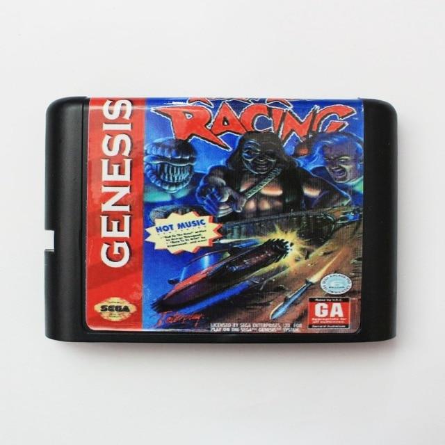 Rock N'Roll Racing - Sega Mega Drive For Genesis