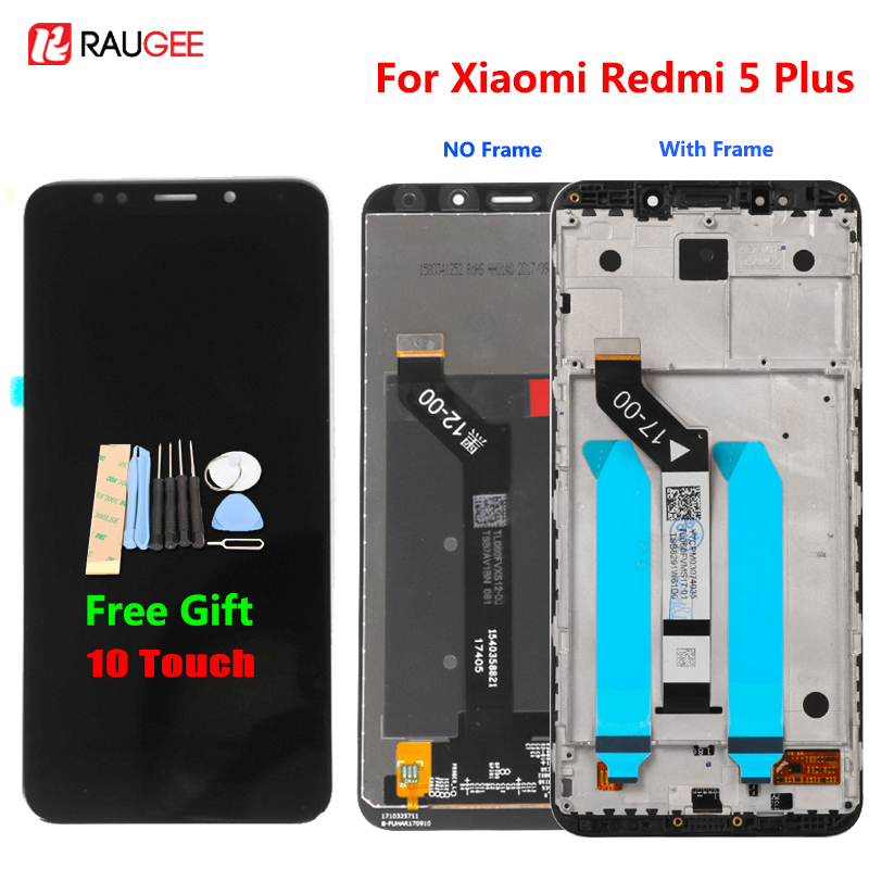 Xiaomi Redmi 5 Plus LCD Display Touchscreen 100% Neue FHD 5,99