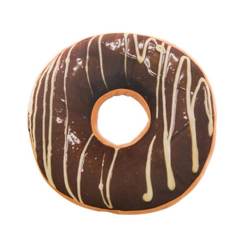 YOMI Z 2018 Fashion Cushion Covers 40*40cm Pillow Coussin De Salon Sofa Sweet Donut Foods Pillowcase Nordic Kussenhoes