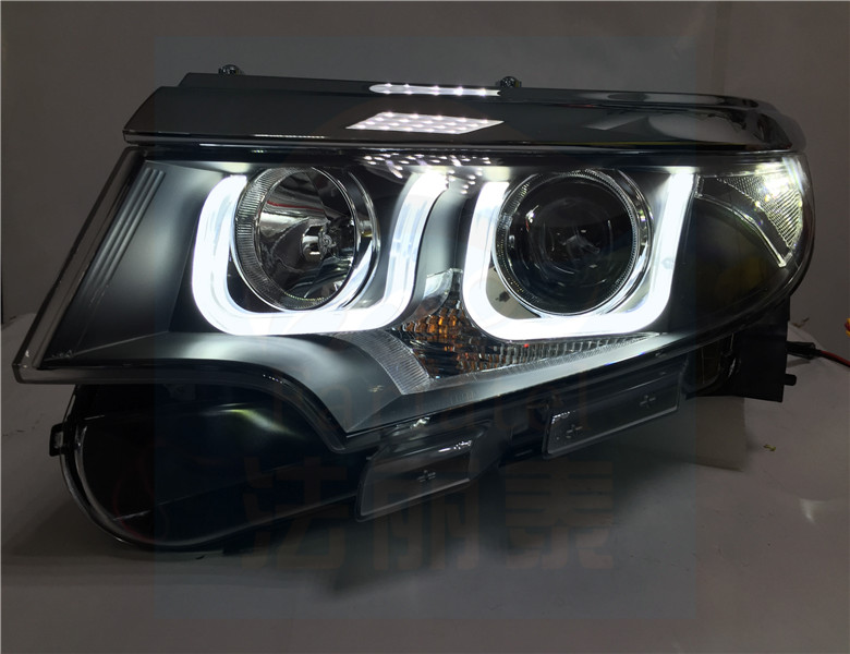 For   Ford Edge Hid Headlights With Bi Xenon Projector And Led Drl In Car Light Assembly From Automobiles Motorcycles On Aliexpress Com Alibaba