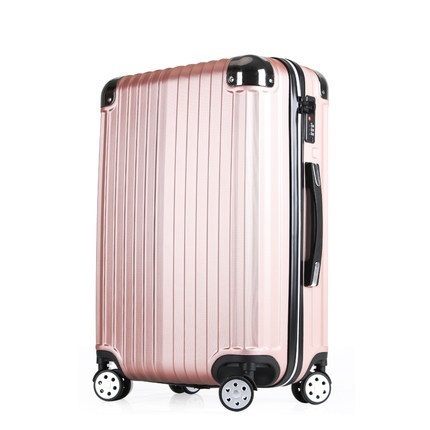INCH 202228# caster trolley luggage password box leather female male 20 24 26 #EC FREE SHIPPING