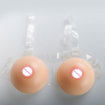 1800g/pair F Cup Round realistic Fake boobs tits faux seins silicone breast Forms For Man gestante cross dressers transsexual