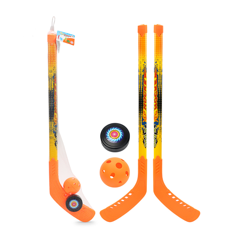 Enfants doux sécurité Hockey Set jouets pour enfants drôle sport jouer jeux en plein air jouet garçon Crashproof Hockey Parent-enfant jeux