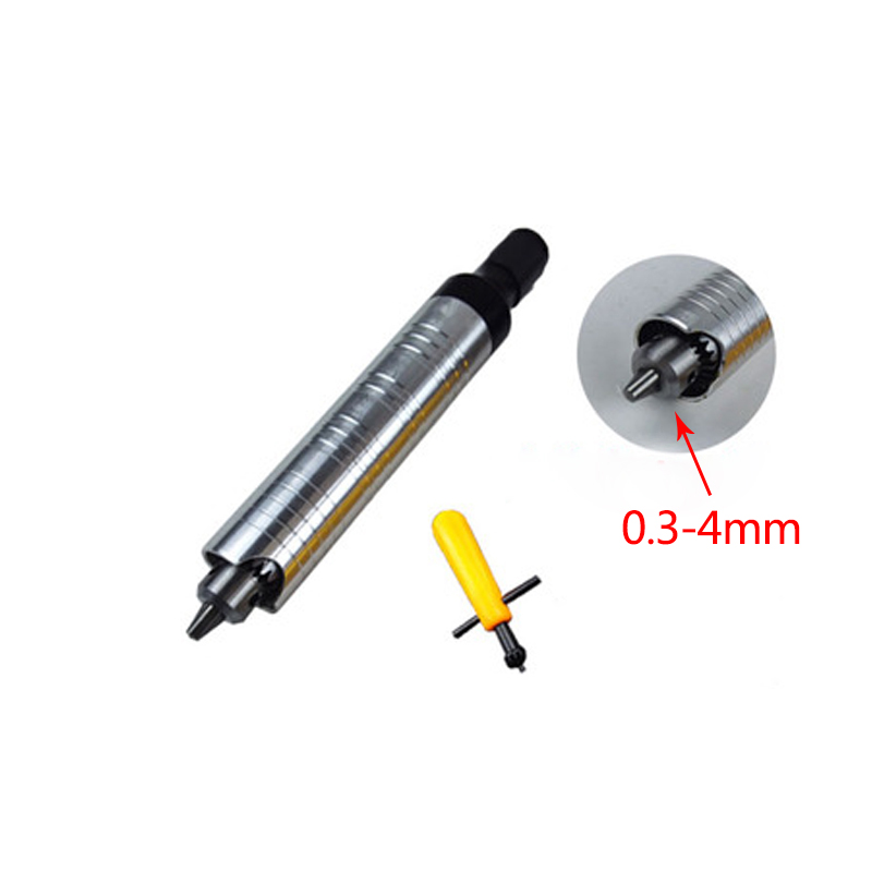 Stelo a mano elettrico + Asta flessibile in metallo + Scalpello - Attrezzature per la lavorazione del legno - Fotografia 3