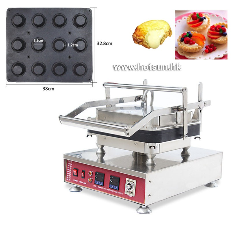 Free Shipping Professional Non-stick 110V 220V Electric 12pcs Round Circle Waffle Cake Maker Machine with Removable Plate free shipping professional non stick 110v 220v electric 12pcs round circle waffle cake maker machine with removable plate
