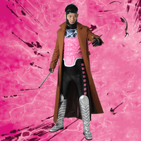 Gambit Cosplay Costume X MEN Clothing Men Comic Superhero Male Halloween Outfit Leather with Boots Custom Made