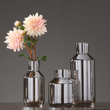 Luxury creative glass vase furnishing crafts terrarium containers flower for wedding decoration home