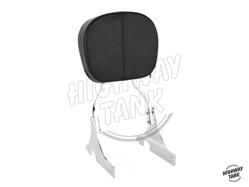 Motorcycle Detachable passenger Backrest Sissy Bar Moto Rear decoration case for Harley Dyna Street Bob Super
