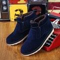 2016 Nuevo Tobillo Botas Los Hombres Zapatos Hombres Botines de Invierno Botas de Nieve Para Los Hombres Botas de Piel Caliente Bota Masculina