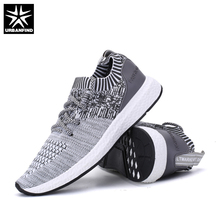 URBANFIND Spring Summer Shoes Men Fashion Casual Footwear Plus Size 38-46 Designer Man Lace-up Brand Shoes