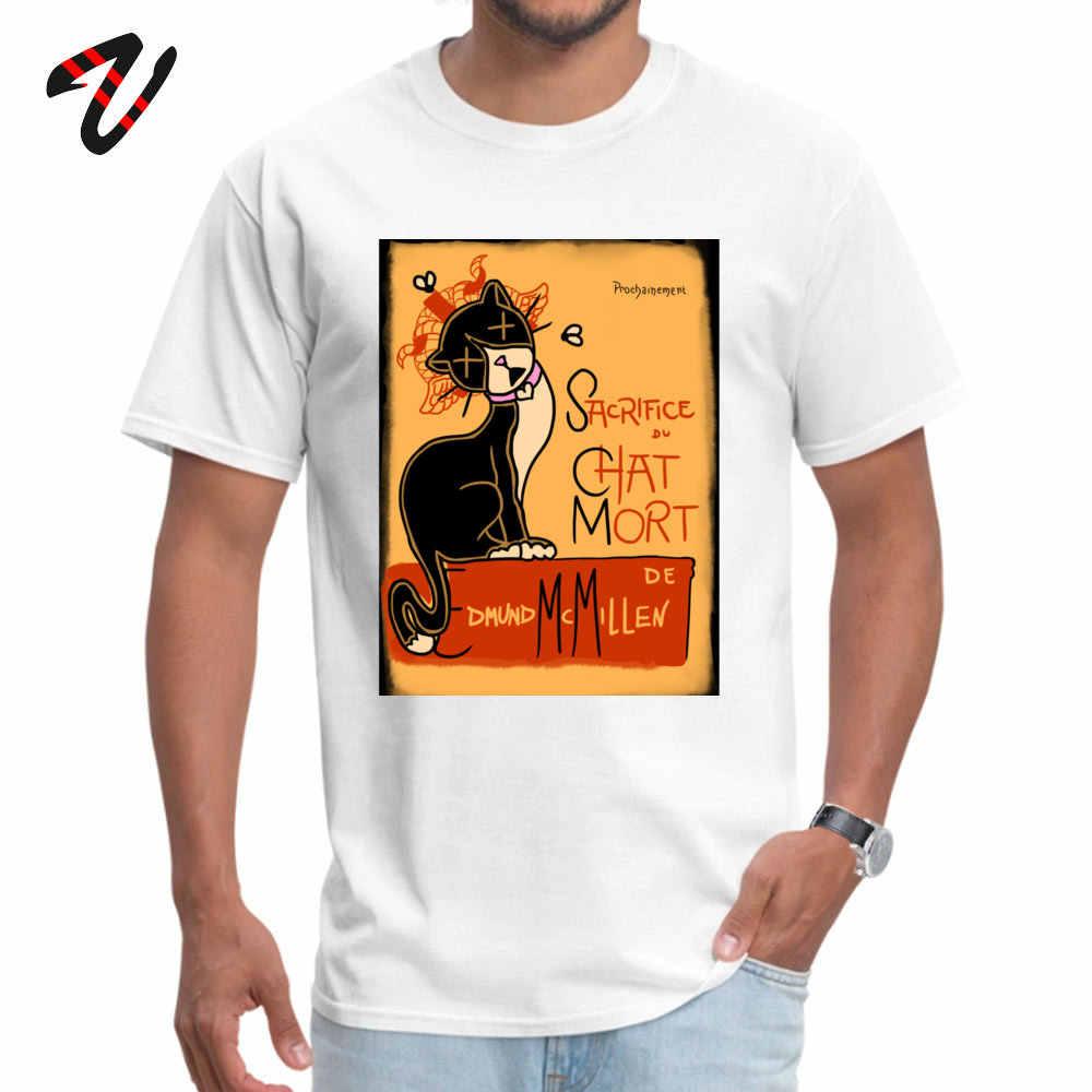Le Chat Mort O cuello camiseta Año Nuevo Tops camisa Steven universo marca puro juego de trono regalo camisetas Hombre clásico