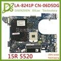 KEFU QCL00 LA-8241P материнская плата CN-06D5DG 06D5DG 6D5DG для dell Inspiron 15R 5520 7520 Материнская плата ноутбука HD7670M оригинальный 100%