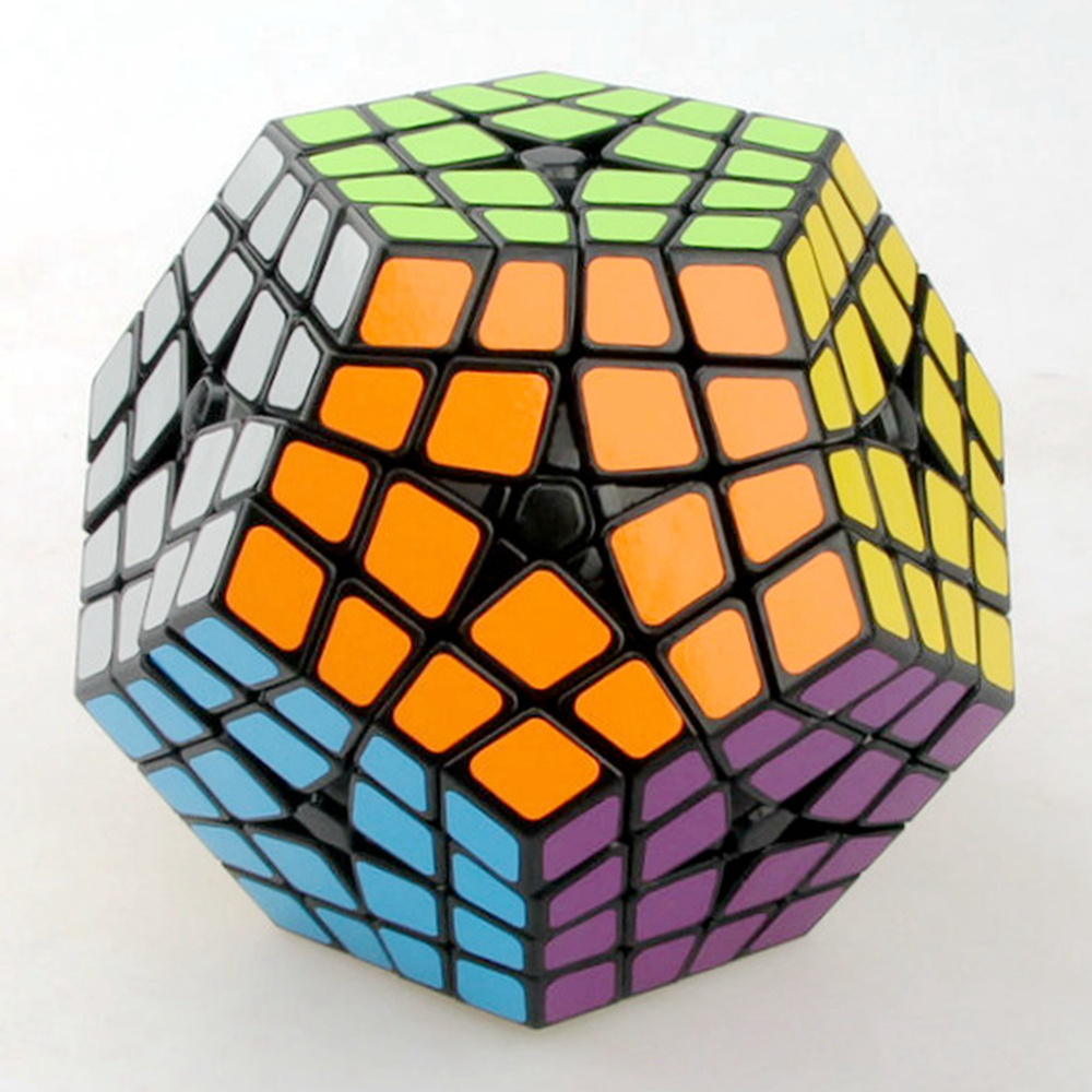 Shengshou Master Kilominx 4 Layer Magic Cube Speed ​​Puzzle Game - Teka-teki - Foto 3