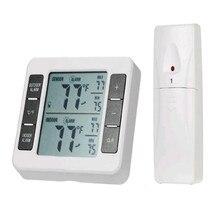 Termómetro Digital inalámbrico, refrigerador casero, Monitor de temperatura, estación meteorológica, 40C-60C C/F Max Min