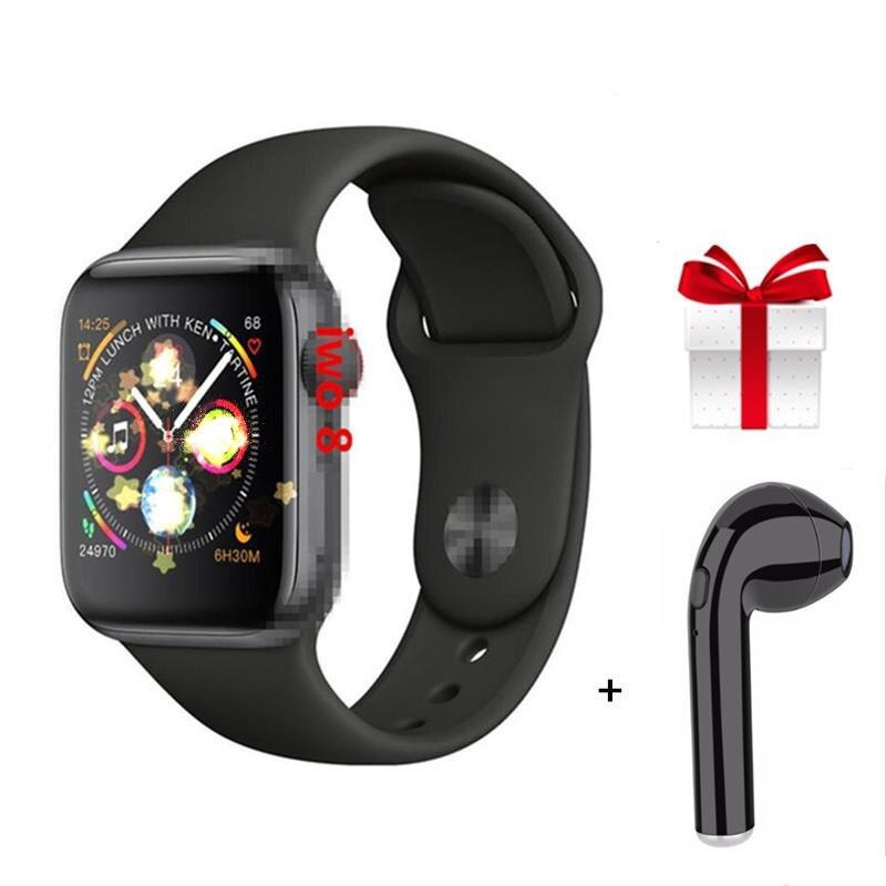 IWO8 44 MILÍMETROS smartwatch Bluetooth relógio Inteligente relógios para womens preço baixo para ios android 1:1 VS iwo Série Relógio 2019 mais recente