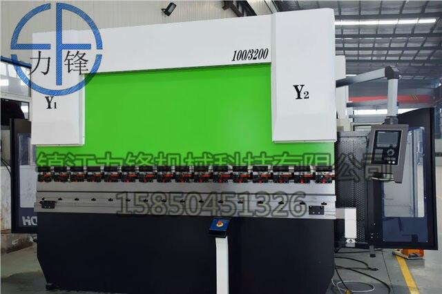 Lifengnd 4 Axis Cnc Presske 135 Toncnc Hydraulic Presske 135t 3050 With Delem Da52s Cnc Y1 Y2 X R Axis Crowning