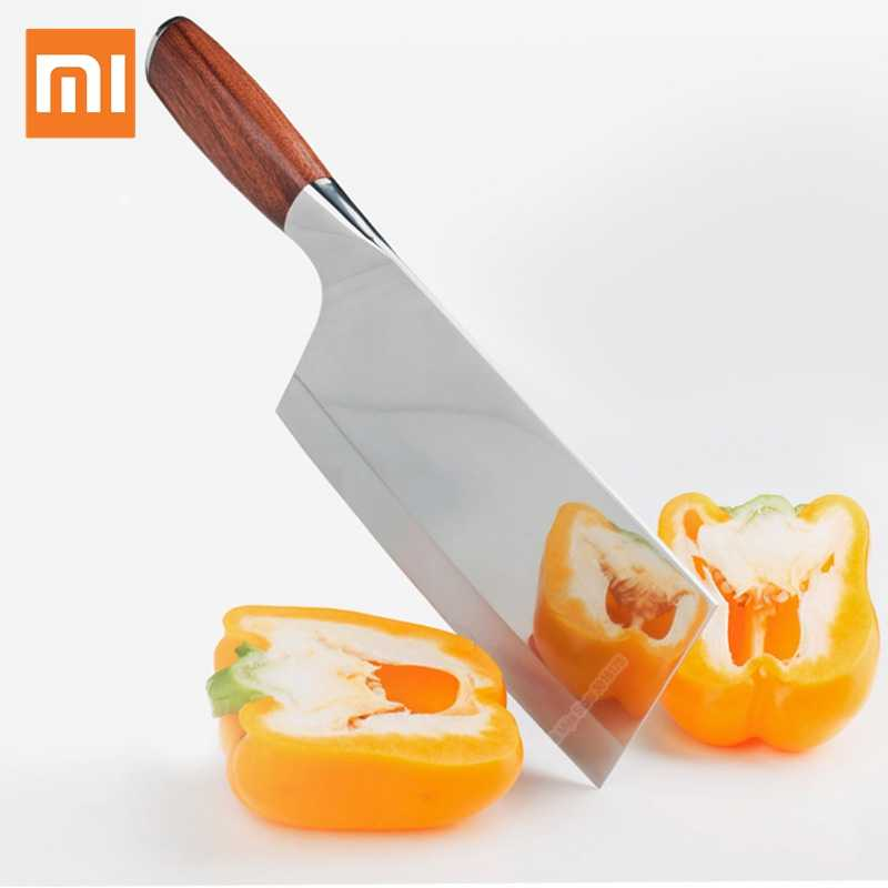 Xiaomi Mijia Butcher Knife Stainless Steel Kitchen Chopper Knife Multipurpose Use for Home Kitchen or Restaurant Smart Home