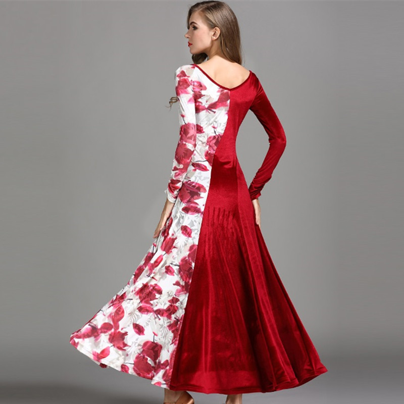 4 colors ballroom dresses sale waltz dance dress Ballroom dance ...