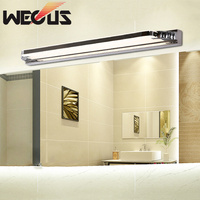 Mirror cabinet front lamp led bathroom makeup mirror light waterproof stainless steel wall lamp 50cm 8W