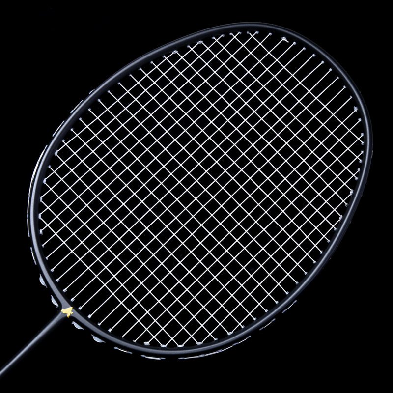 Ultralight 6U Badminton Racket Professional Carbon Portable Free Grips Sports &T8