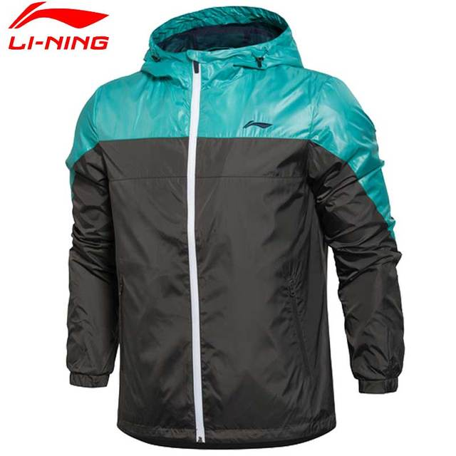 Li-Ning Men's Training Jackets Windproof Quick Dry Breathable Polyester LiNing Sports Jacket AFDL099 MWF341
