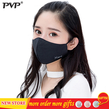 PVP 1Pcs Fashion Rabbit Face Mouth Mask Anti Dust Mask Filter Windproof Mouth-muffle Bacteria Proof Flu Face Masks Care Reusable zlrowr shark mouth anti fog flu face masks unisex surgical respirator mouth muffle mask