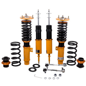 خفض Coilover عدة ل BMW E92 E93 2007-2013 3 سلسلة الصدمات و لفائف الربيع 24 طرق للتعديل المثبط كويلوفيرس امتصاص الصدمات