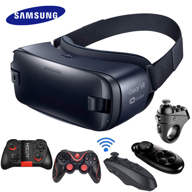 Samsung Gear VR 4.0 3D Glasses Virtual Reality Helmet Built For Samsung Galaxy Note 7 S6 S6 Edge+ S7 S8 S8plus S9 S7Edge