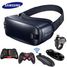 ציוד Samsung VR 4.0 3D משקפיים מציאות מדומה קסדת נבנה עבור סמסונג גלקסי 7 S6 S8plus קצה + S7 S8 S6 S9 S7Edge