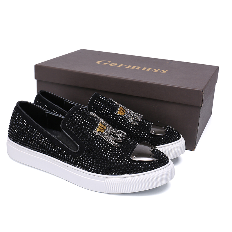 Summer Shoes Black Men Fashion Casual