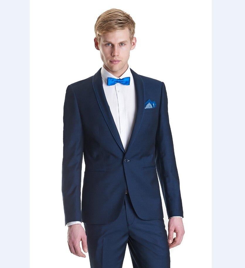 Silk Suits Men Blue Promotion-Shop for Promotional Silk Suits Men