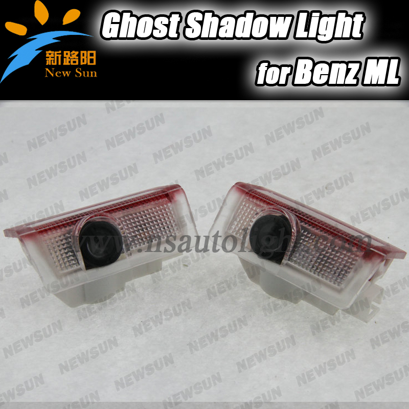 super bright LED Courtesy Laser Projector 3D Light Door Welcome Ghost Shadow logo light for Benz ML class directly fit fry s more fool me a memoir