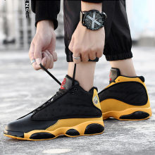 2019 Novo Estilo de Tênis de Basquete Respirável Mens Boys High Top Sneakers Não-deslizamento À Prova de Choque Cesta Jordan Shoes Zapatillas Hombre(China)