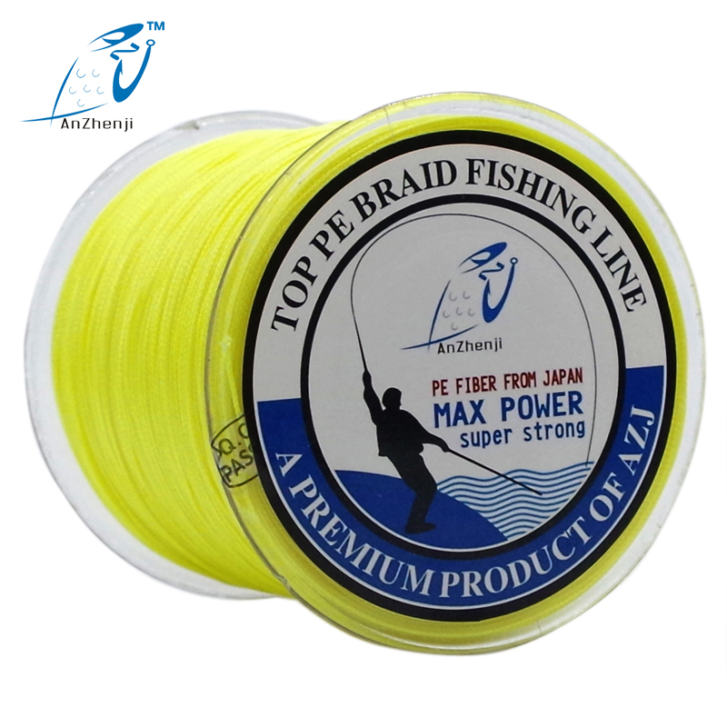 AZJ FISHING Μάρκα 8X 300M Ιαπωνία πολλαπλών νημάτων πολυπροπυλένιο PE πλέξη αλυσιδωτή γραμμή 8 κλώνων Μέγιστη πλεκτά συρματόσχοινα peche 15 30 40 50 80 100 200LB