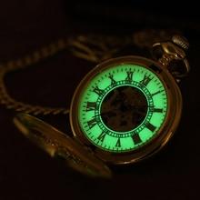 Новинка, карманные часы ORKINA, мужские часы с золотой цепочкой, механические наручные часы с подвеской, мужские часы скелетоны, часы с ожерельем