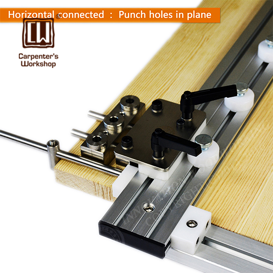 Round Wood Tenon Hole Drilling Locator Furniture Diy Tool Furniture Connection Device