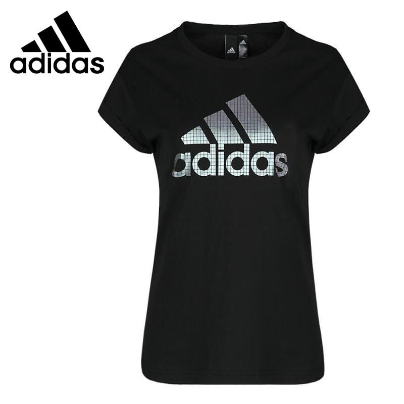 Original New Arrival Adidas GFX SS T BOS Women s T shirts short sleeve Sportswear