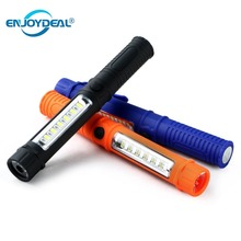 COB LED Mini Pen Light Working Inspection Multifunction Flas