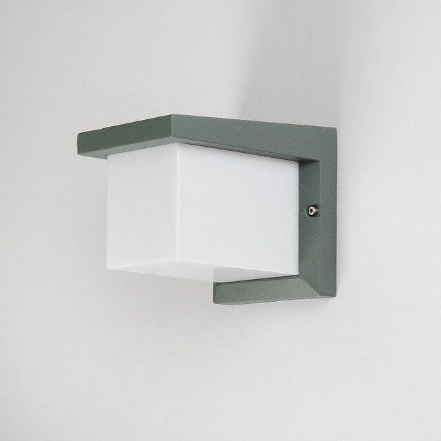 Imperméable à Leau Cube Led Applique Murale 10 W Mur Led Applique