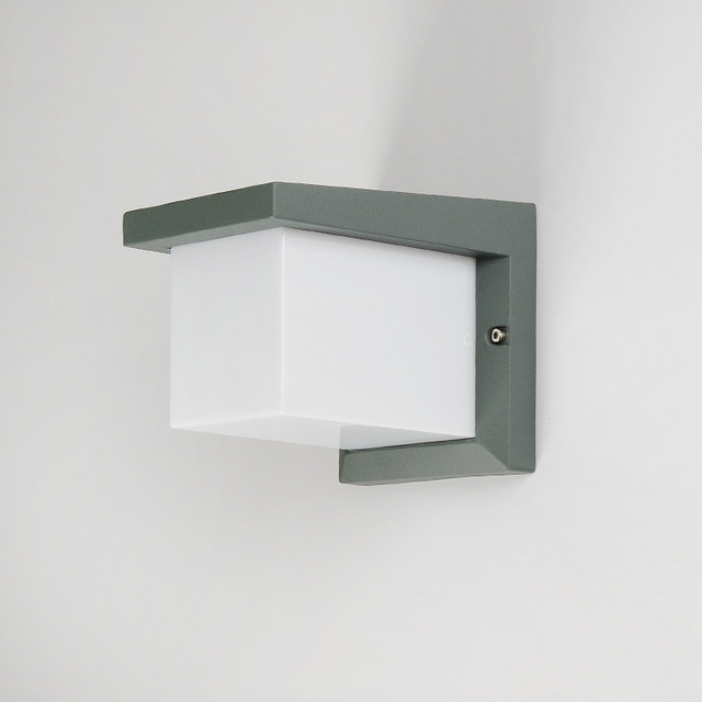 Waterproof Cube LED Wall Light 10W LED Wall Sconce Lamp led porch ...