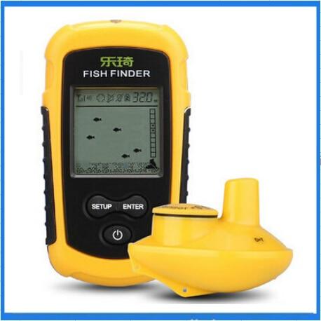 lucky ffw1108 1 portable 100m wireless fish finder alarm 40m/130ft, Fish Finder