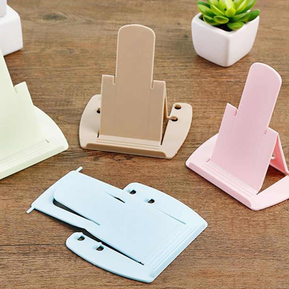 تابلت عالمي دعم المحمولة متعددة زوايا للهواتف الذكية/البلاستيك طوي مرنة حامل حامل هاتف قوس سطح المكتب