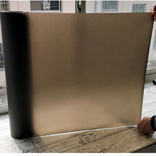 90*200cm Privacy Window Film Black Frosted Static Glass Sticker Opaque Anti-UV Bathroom Bedroom Home Decorative