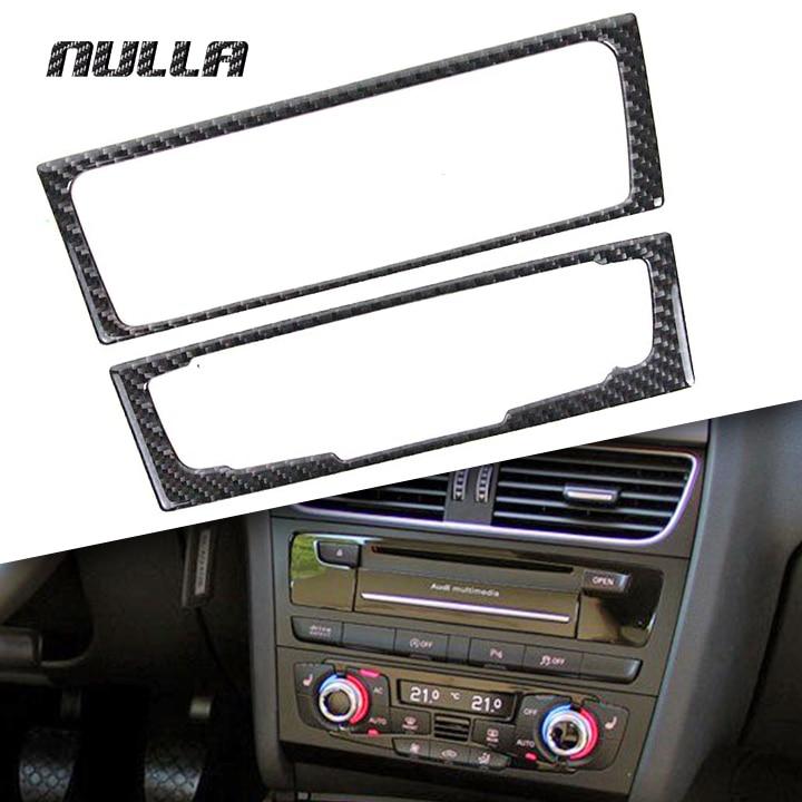 Hot Item NULLA Carbon Fiber Car Interior Center Console Audio CD ...