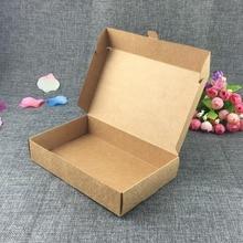 60 stücke Weiß/Schwarz/Kraft Geschenk Verpackung Papier Box Diy Boutique Verkauf Papier Box Partei Liefert Obst/ lebensmittel/Candy Ort fall